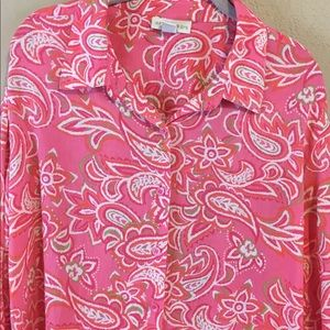 2/15 Appleseed Women's Top Blouse Size XL